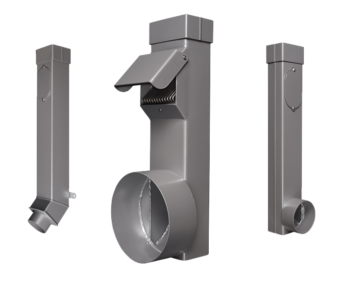 Stainless Steel Downspouts